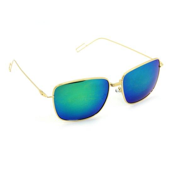 Óculos Bijoulux de Sol Quadrado Espelhado - Compre Agora   Zattini 29d22288ff