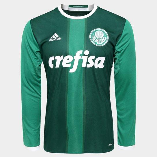 85a45d1e06 Camisa Adidas Palmeiras I 2016 s nº Manga Longa - Compre Agora