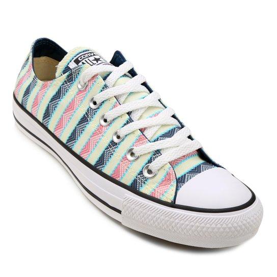 Tênis Converse Chuck Taylor All Star - Verde e Branco - Compre Agora ... 18dafcc16b