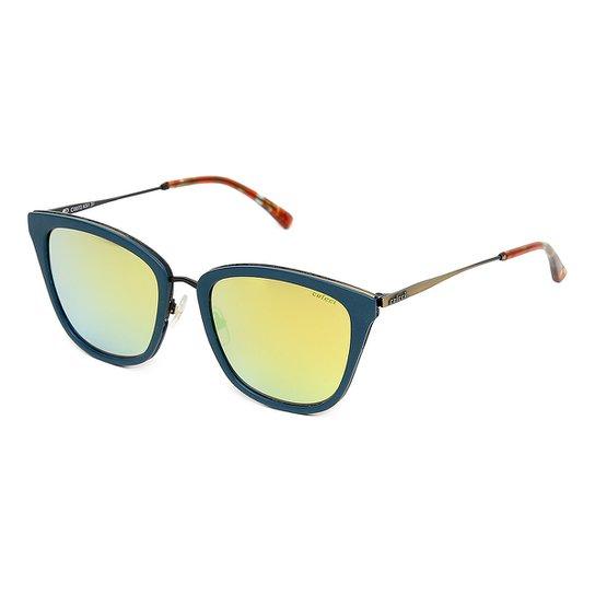5e0eed166 Óculos de Sol Colcci C0072 C0072K5131 - Dourado e Azul | Zattini