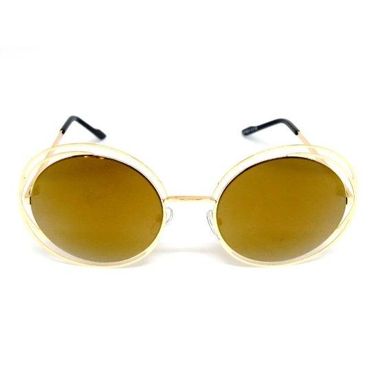 6a2e862105f17 Óculos Solar Cayo Blanco Redondo - Compre Agora   Zattini