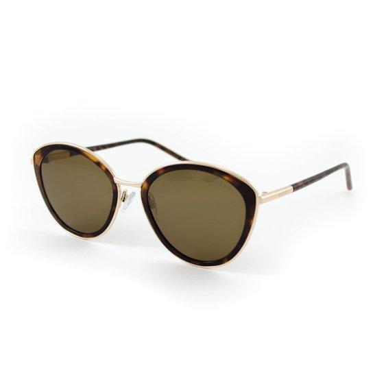 19dcc753c9c7d Óculos de Sol Bulget - Dourado e Marrom - Compre Agora