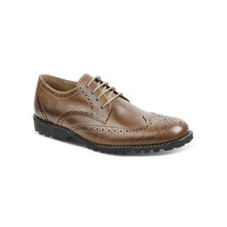 5b5316434 Sapato Social Masculino Oxford Sandro Moscoloni Brot Marrom Claro