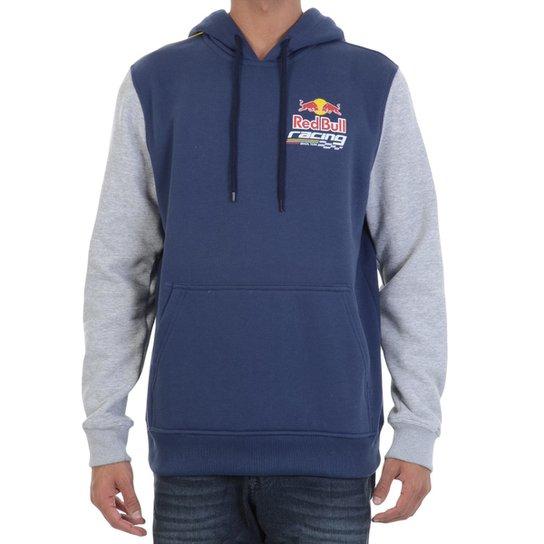 Moletom Red Bull Racing Raglan Masculino - Marinho e Cinza - Compre ... 55f9862247a