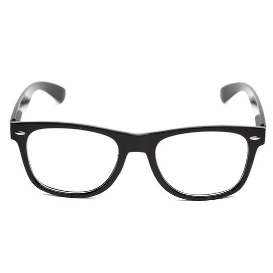 79f9b0761 Armação de óculos Thomaston Reeves Preto - Compre Agora | Zattini