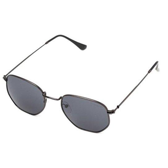 Óculos de Sol Thomaston Round Six Preto - Compre Agora   Zattini b6f46b71ba