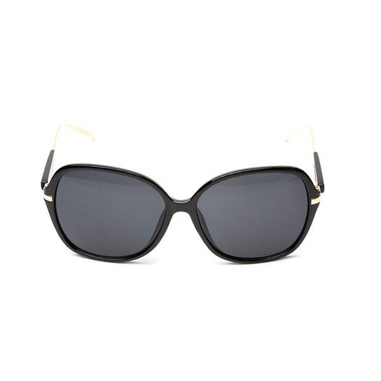 Óculos de Sol Thomaston Lush - Preto e Marrom - Compre Agora   Zattini 57e480c652