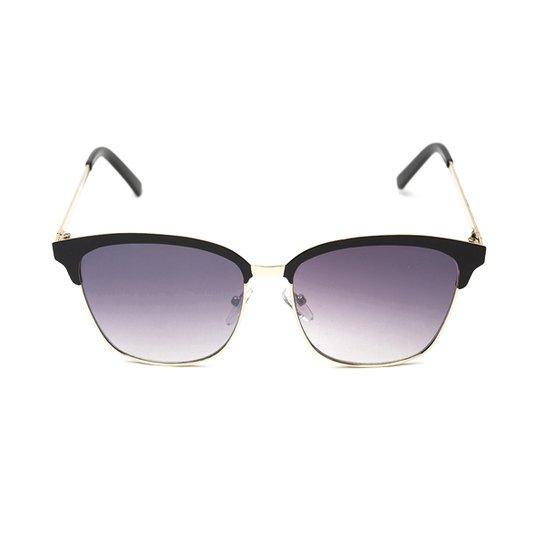 118044266 ... 0229691f4ec59 Óculos de Sol Thomaston Chess - Preto e Marrom - Compre  Agora ...
