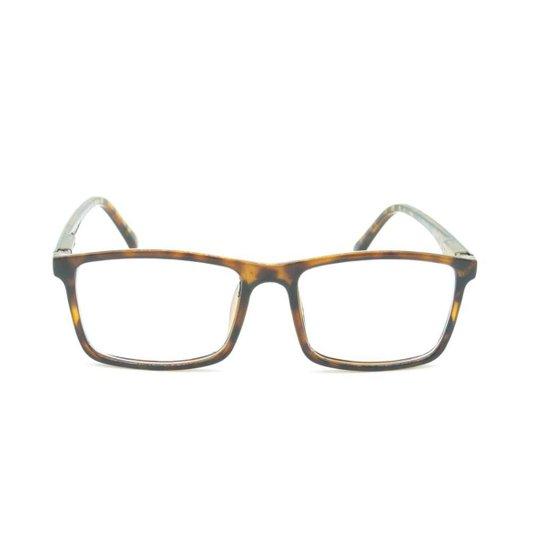 00480ccc7 Armação para Óculos de Grau Prorider Tartaruga Feminina - Preto+Marrom