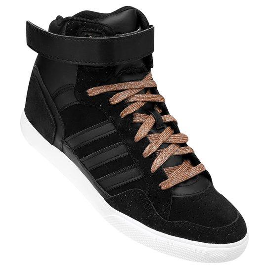 11fb014d05d5f Tênis Adidas Extaball Up W - Preto+Marrom