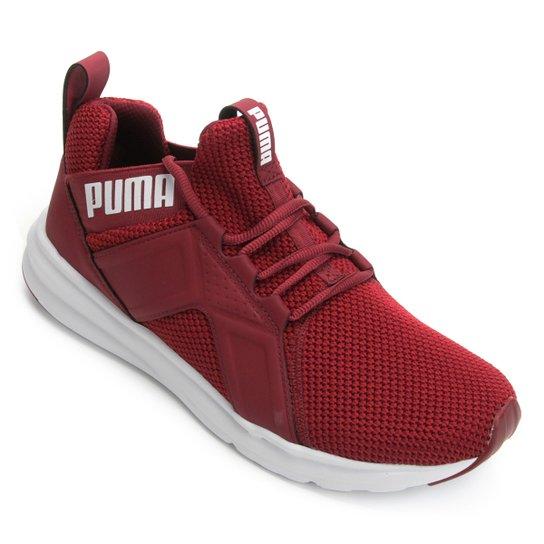 f7cd2a65c3f Tênis Puma Enzo Weave Bdp Masculino - Vermelho e Branco - Compre ...