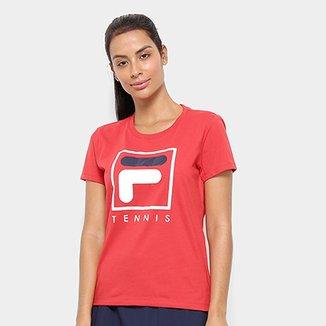 9e49fb84bf Camiseta Fila Soft Urban Feminina