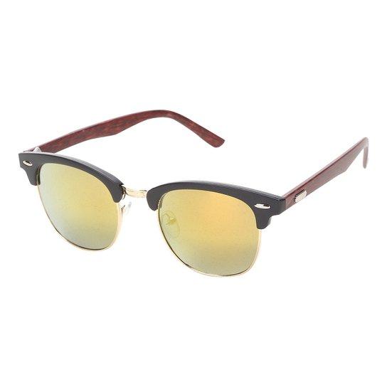69628be7c Óculos De Sol King One Redondo 9909 Feminino - Compre Agora | Zattini
