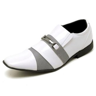 62e96dfe7 Sapato Social Top Franca Shoes Verniz Masculino