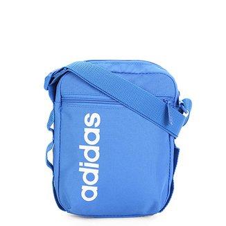 e79ef50a87a Shoulder Bag Adidas Alça Transversal Estampa Lateral Lin Core
