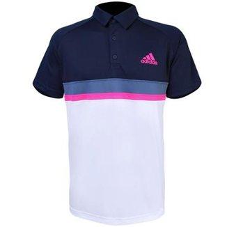 1108a93d6e Polo Adidas Masculina Colorblock Club Masculina