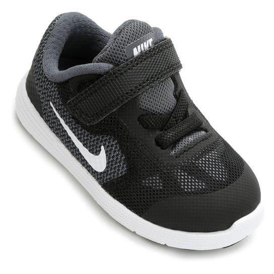 c32fb2d4048 Tênis Infantil Nike Revolution 3 - Preto e Cinza - Compre Agora ...