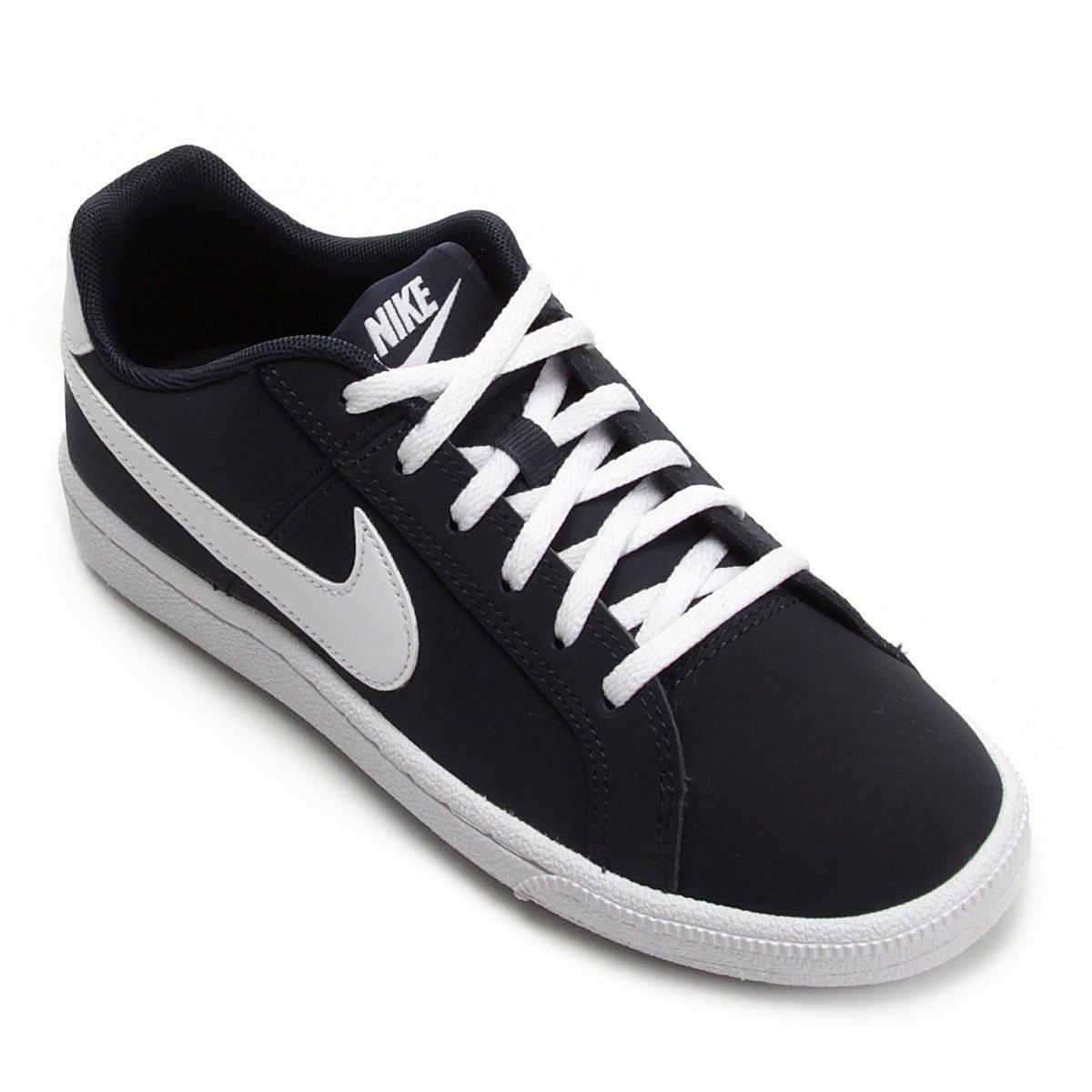 9eeb71c9a3a Tênis Infantil Couro Nike Court Royale Masculino