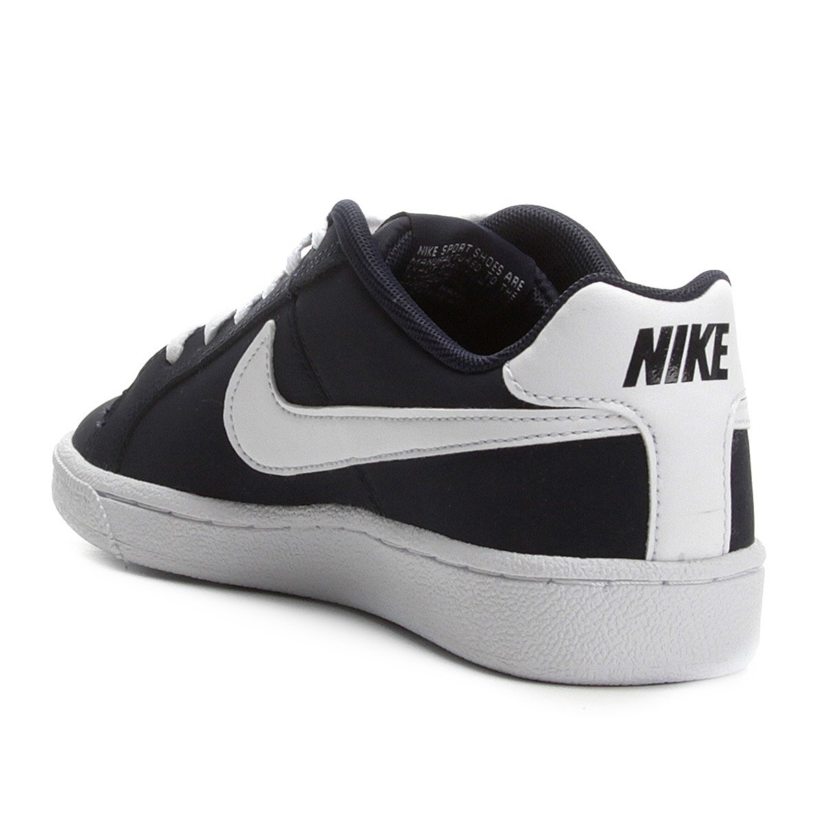 bb04f665b Tênis Infantil Couro Nike Court Royale Masculino