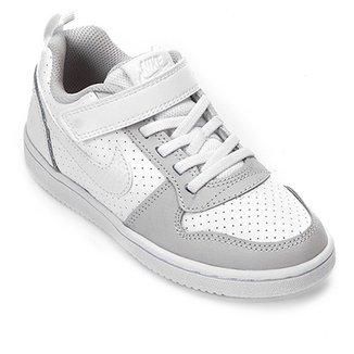4758b9b7e Tênis Infantil Nike Court Borough Low Feminino