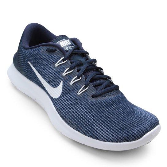 6cd3907defe8e Tênis Nike Flex 2018 Rn Masculino - Azul e Branco - Compre Agora ...