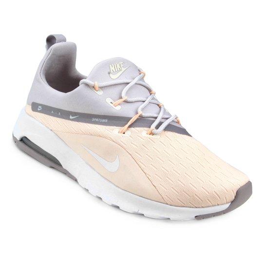 Tênis Nike Air Max Motion Racer 2 - Cinza e Rosa - Compre Agora ... c33e75d630154
