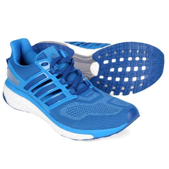 Tênis Adidas Energy Boost 3 Masculino - Azul e Branco - Compre Agora ... 04e8c9ef15945