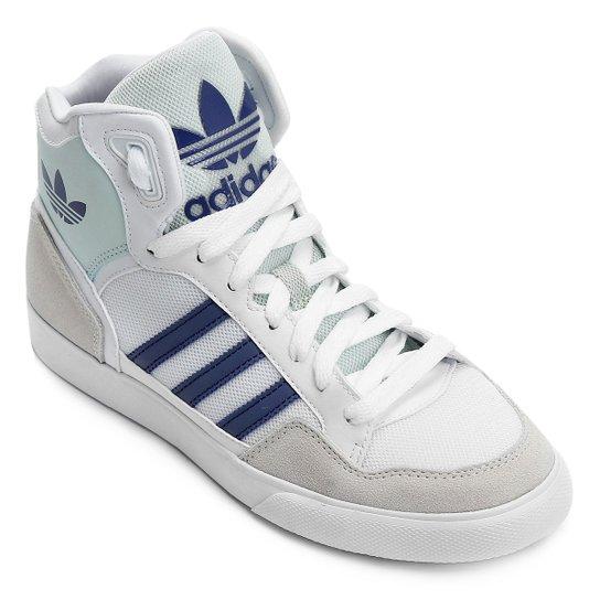 037a723017cac Tênis Adidas Extaball - Branco+Azul
