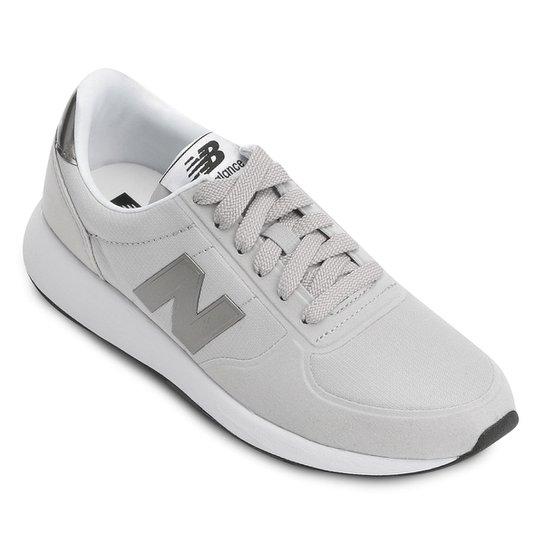 f834ed59a534d Tênis New Balance 215 Feminino - Branco e Cinza - Compre Agora