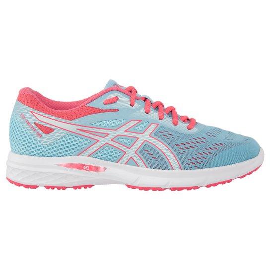 92e4273b4a1 Tênis Asics Gel-Excite 6 Feminino - Azul e Rosa - Compre Agora