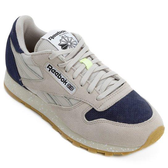 Tênis Reebok Classic Leather Sm - Compre Agora  763c0c221655f