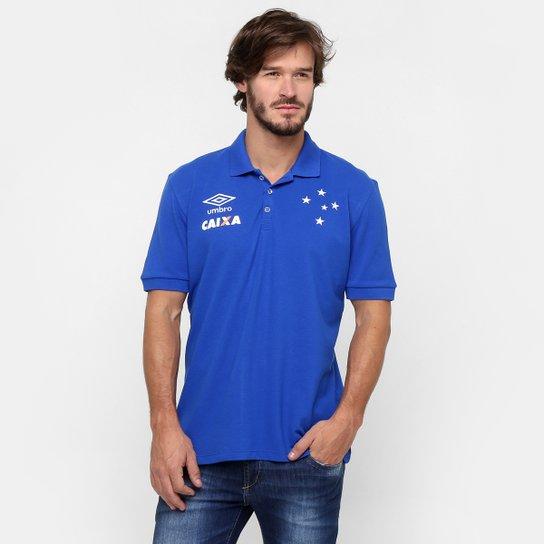7ce185230c Camisa Polo Umbro Cruzeiro Viagem 2016 - Compre Agora