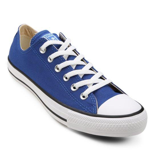 Tênis Converse Chuck Taylor All Star - Azul e Branco - Compre Agora ... 2f576151ee