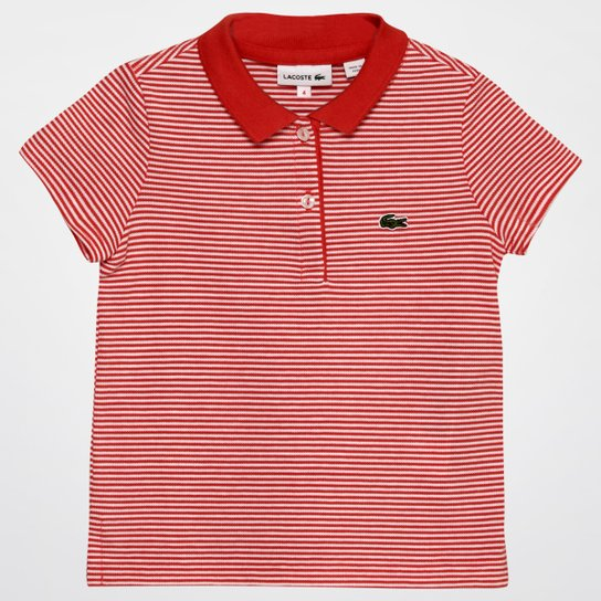 Camisa Polo Lacoste Infantil - Compre Agora   Zattini 6c9686086b