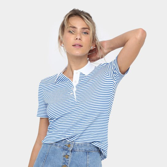 5a283c10f2 Camisa Polo Lacoste Listrada Feminina - Compre Agora