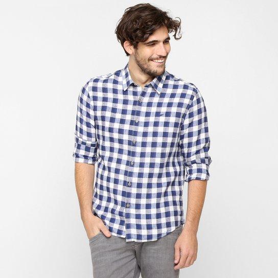 4d169730c7a11 Camisa Ellus Linho Xadrez - Compre Agora
