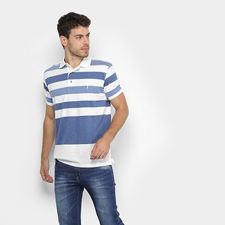 50941f7ffbc Camisa Polo Aleatory Fio Tinto Listrada Masculina