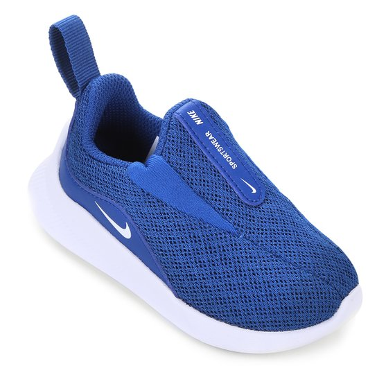 9bcec6a040c Tênis Infantil Nike Viale Bt Masculino - Azul e Branco - Compre ...