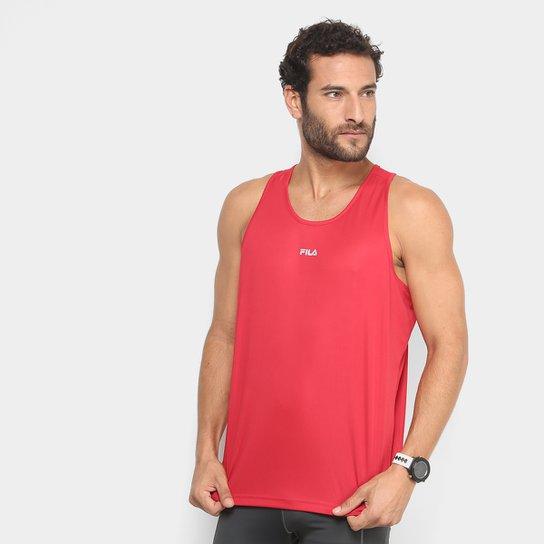 Regata Fila Basic Masculina - Vermelho+Vinho 51c5378d93d