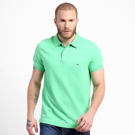 Camisa Polo Tommy Hilfiger Piquet Slim - Compre Agora  29e2e6e7fe8aa