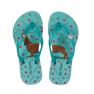 a92a2814d Chinelo Rafitthy Be Forever Dog Fun Feminino