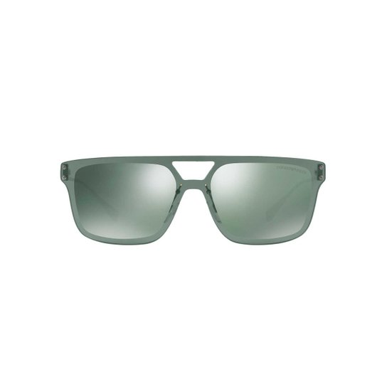 Óculos de Sol Emporio Armani Retângular EA2048 Masculino - Compre ... 1514fee579