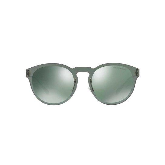 Óculos de Sol Emporio Armani Redondo EA2049 Masculino - Compre Agora ... 6879ba915a