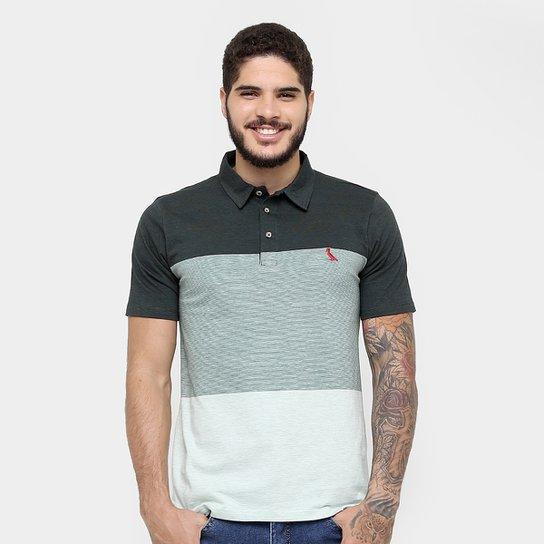 Camisa Polo Reserva Malha Listras Bordado - Compre Agora  98bd66a479ebf