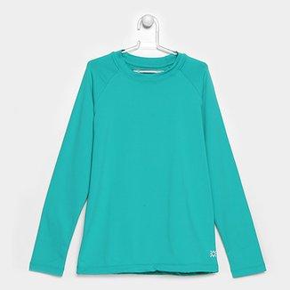 1b896be207 Camiseta Infantil Uv.Line UV Pro Lisa