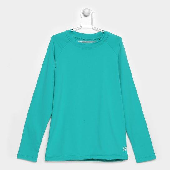 7728b56134 Camiseta Infantil Uv.Line UV Pro Lisa - Compre Agora