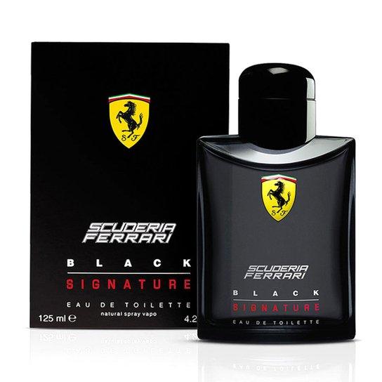 2310f0d6a Perfume Black Signature Masculino Ferrari EDT 125ml - Compre Agora ...