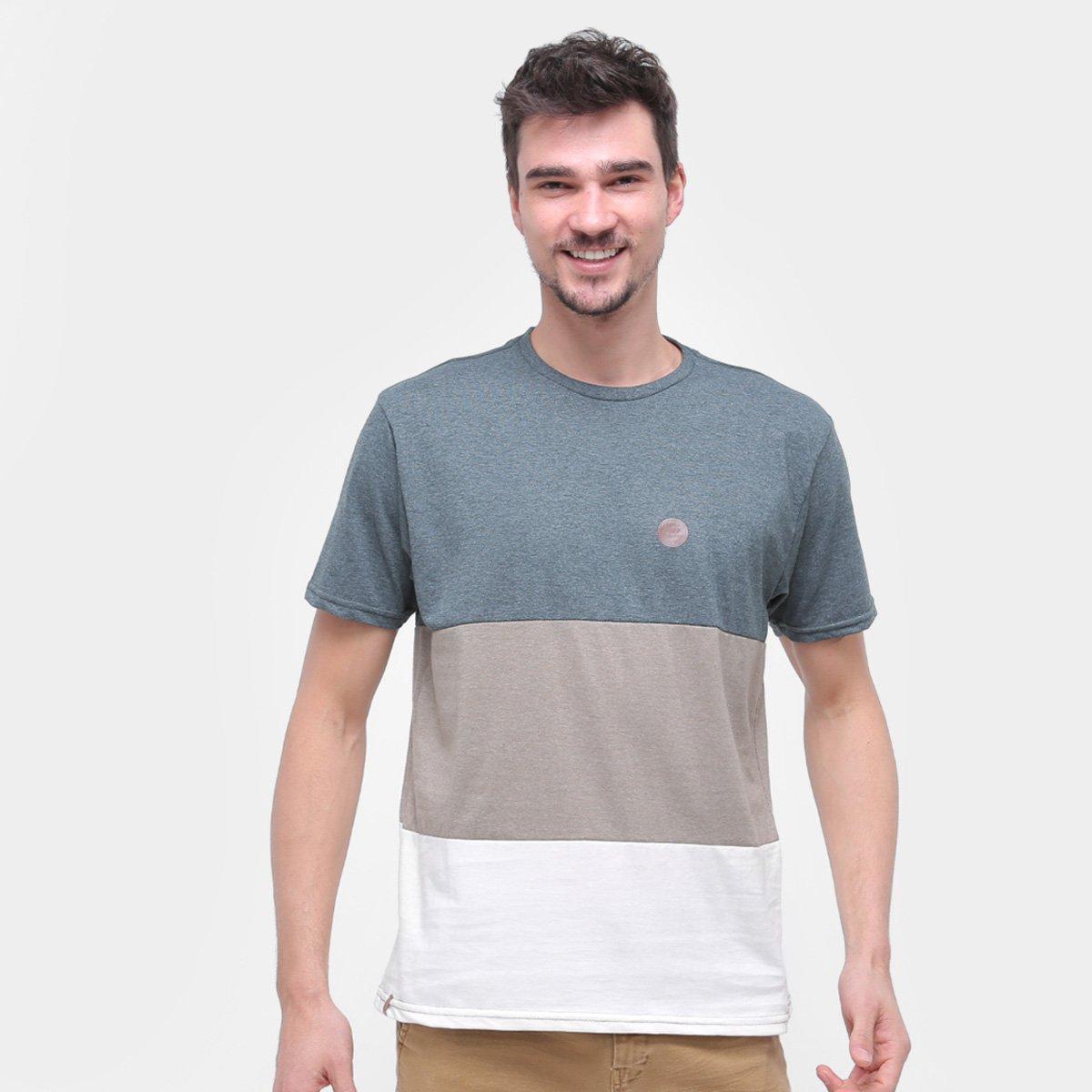 Camiseta Hd Faixas Masculina