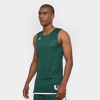 acc80cd904 Camiseta Regata Adidas Treino Reversivel Masculina