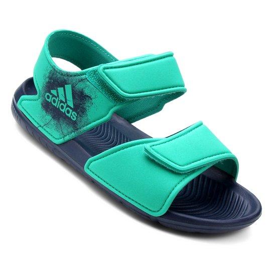 cec0018ecc9 Sandália Infantil Adidas Altaswim - Verde - Compre Agora